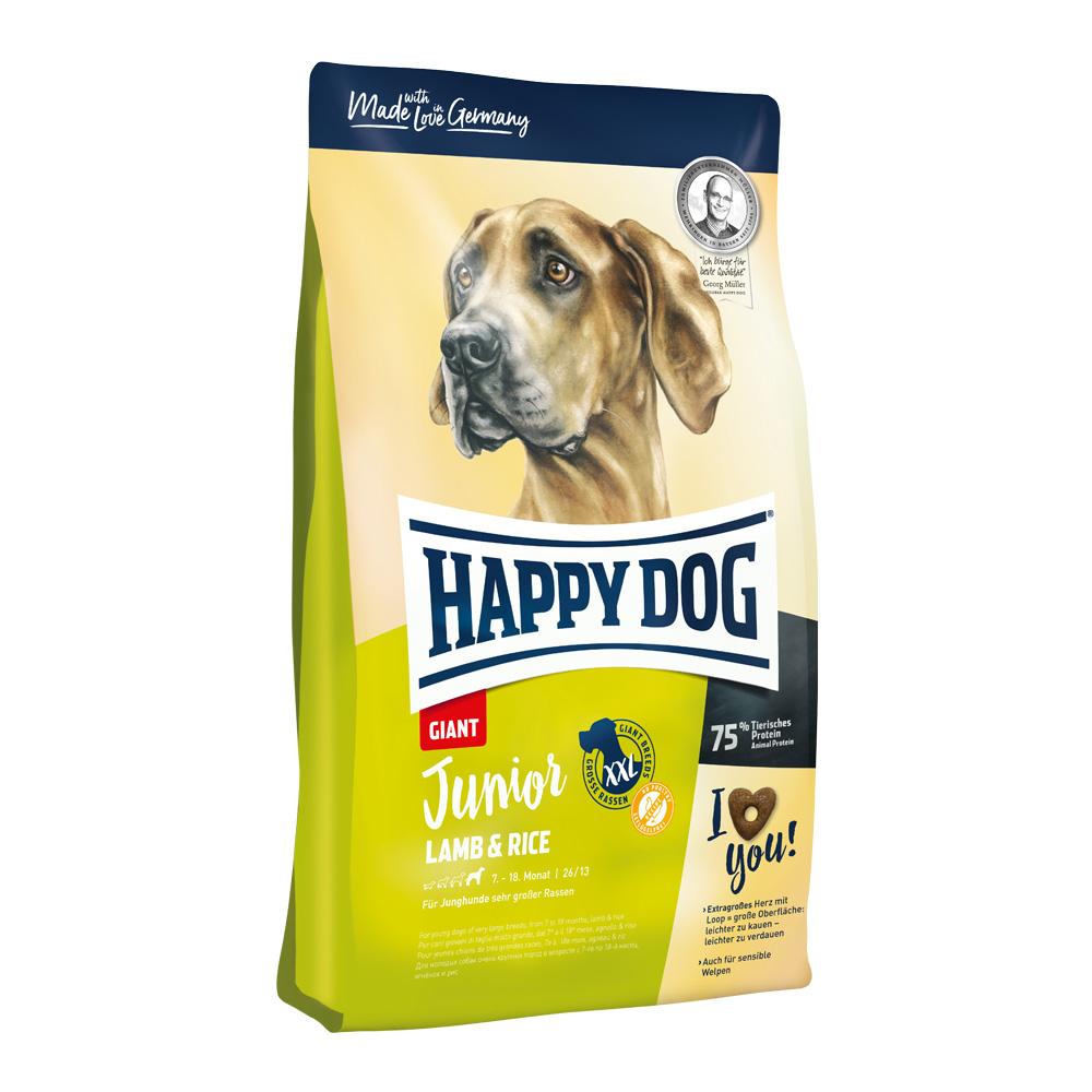 Happy Dog Junior Giant Lamb & Rice 15 kg