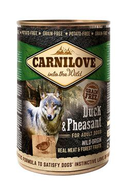 Carnilove Dog Wild Meat Duck & Pheasant 400 g