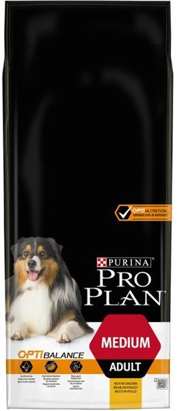 PURINA PRO PLAN Medium Adult OPTIBALANCE s kuřetem 14 kg