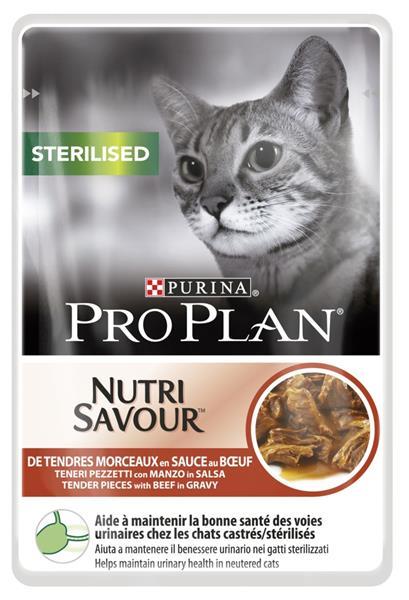 ProPlan Cat sterilised hovezi 85 g