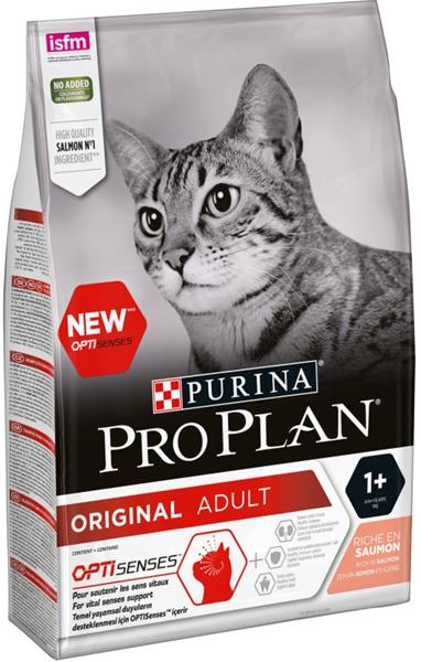 ProPlan Cat Sterilised Salmon 3 kg. Krmivo po datu min. trvanlivosti - červenec/21.