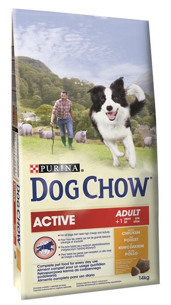 PURINA Dog Chow active Chicken 14 kg