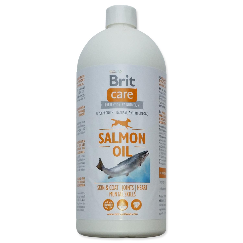 Brit Care Salmon Oil lososový olej 1000 ml