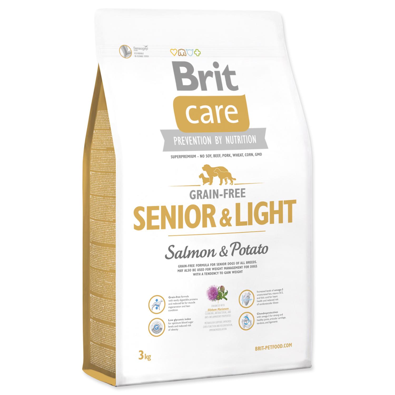 Brit Care Grain-free Senior&Light Salmon & Potato 3 kg