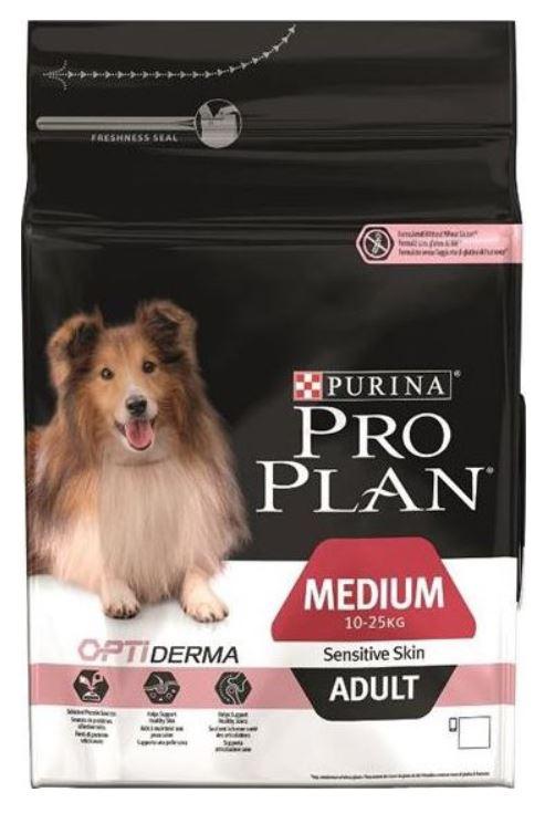 Purina Pro Plan Dog Adult Medium Sensitive Skin 3 kg