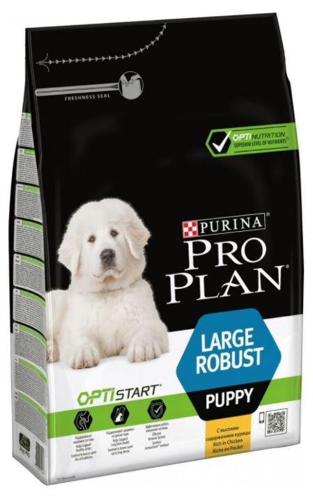 Purina Pro Plan Puppy Large Robust Chicken 3 kg - po datu min. trvanlivosti 3/21