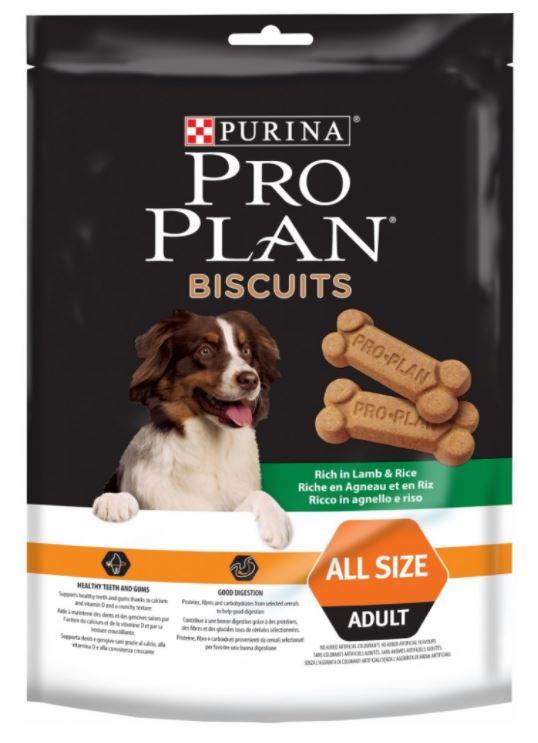 Purina Pro Plan Biscuits Lamb+Rice 400 g