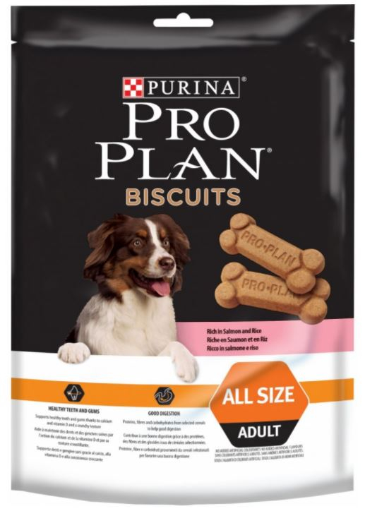 Purina Pro Plan Biscuits Salmon+Rice 400 g