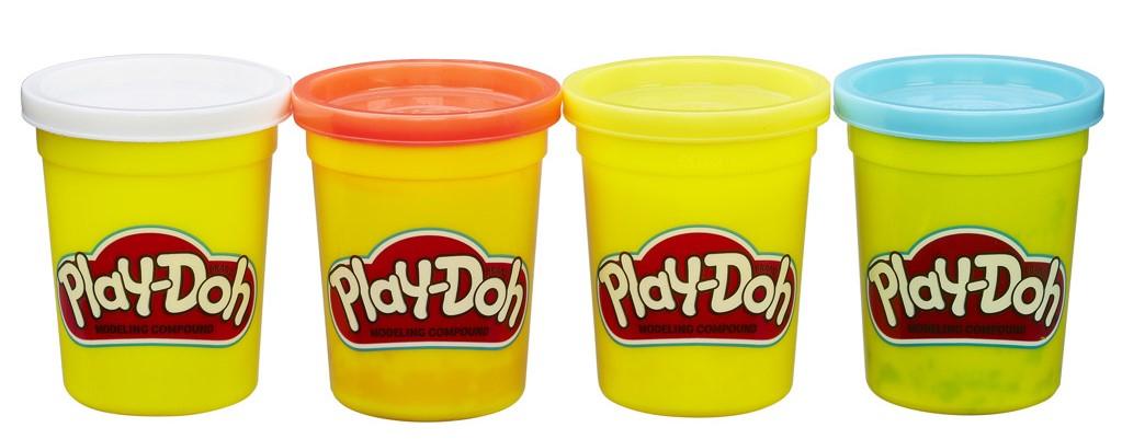 Hasbro Play-Doh 4 Kelímky 448 g