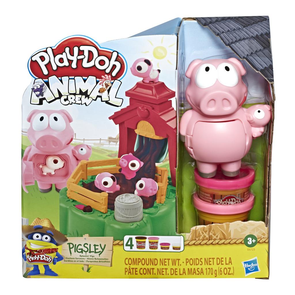 Play-Doh Animals rochnící se prasátka