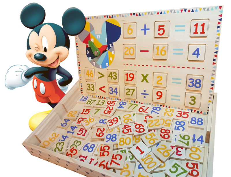 Derrson Disney Velká sada Počítání 227ks