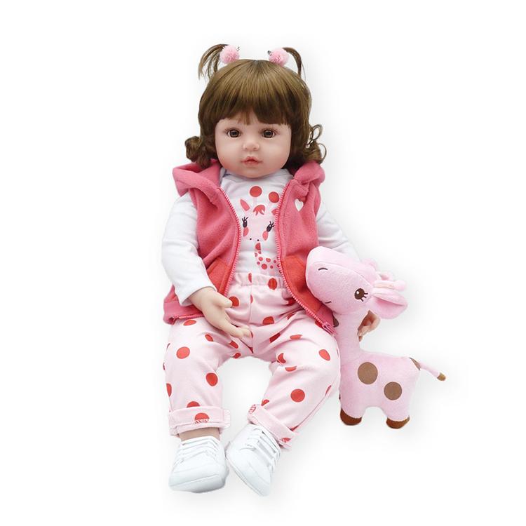 Hawaj Reborn realistická panenka na hraní Zorinka, 60 cm