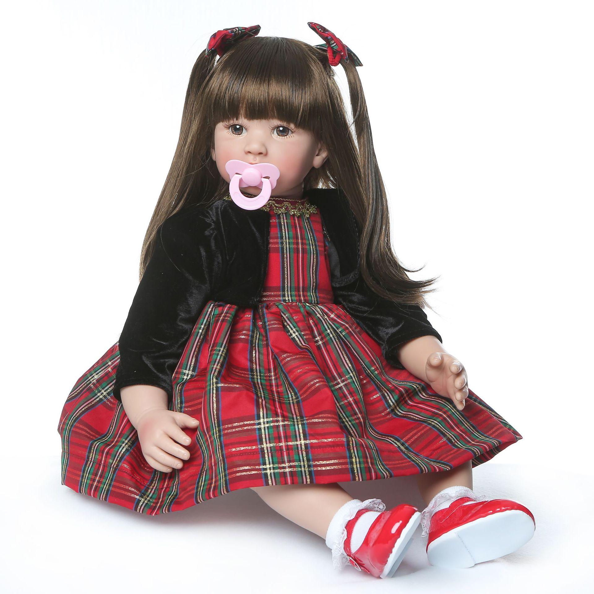 Hawaj Reborn realistická panenka na hraní Apolenka 60 cm