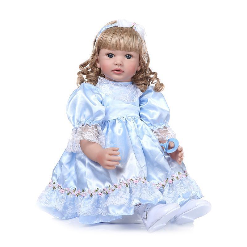 Hawaj Reborn realistická panenka na hraní Márinka, 60 cm