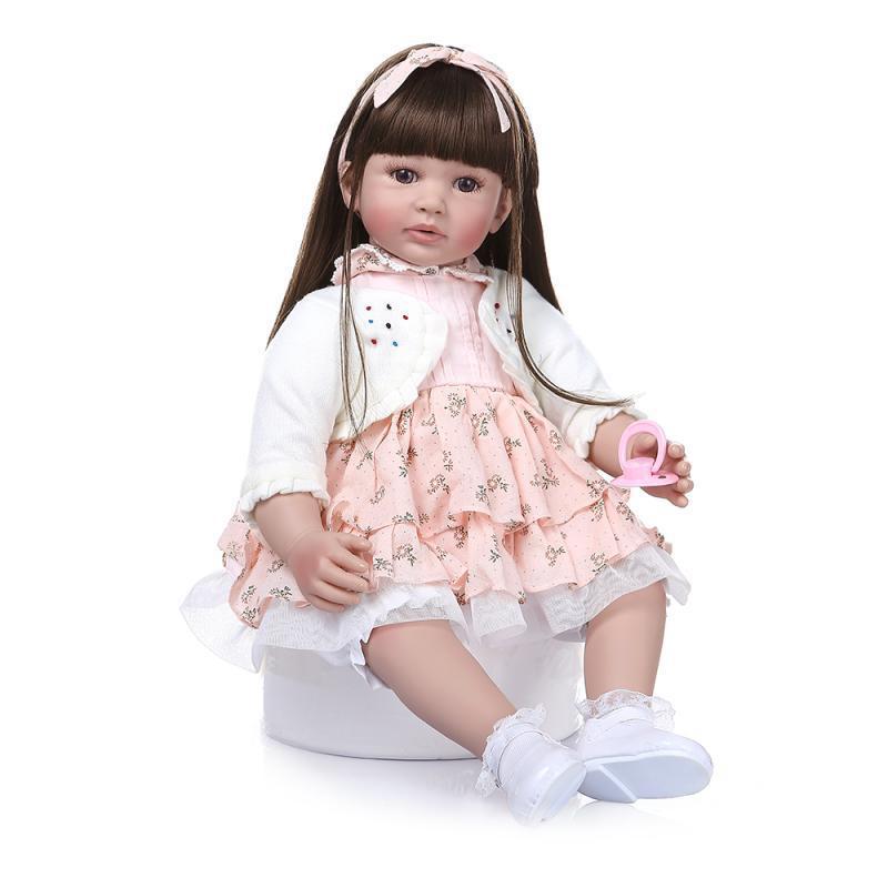 Hawaj Reborn realistická panenka na hraní Marcelka, 60 cm