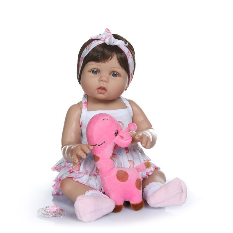 Hawaj Reborn realistická panenka na hraní Adélka, 60 cm