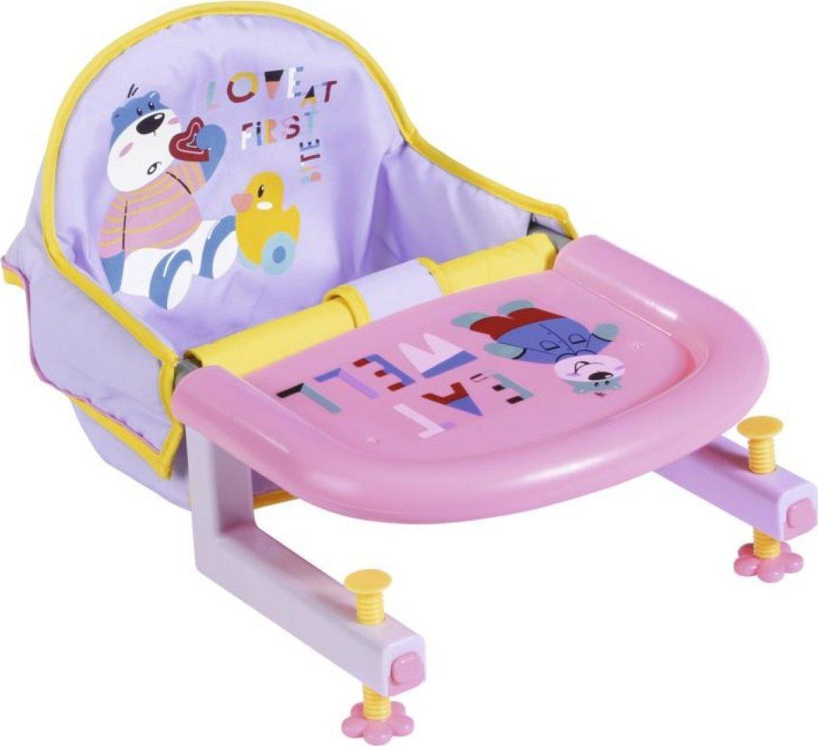 Zapf Creation Baby born Jídelní židlička s uchycením na stůl