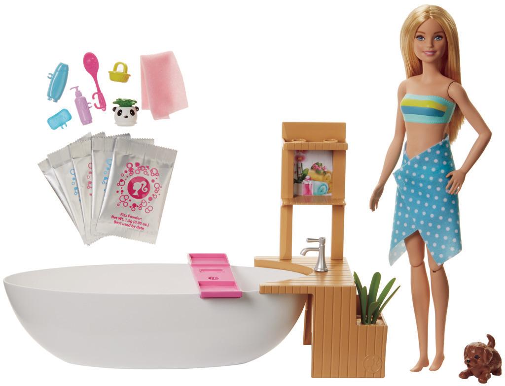 Barbie Wellness panenka v lázních