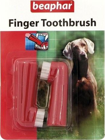Zubní kartáčky BEAPHAR Dog-A-Dent na prst