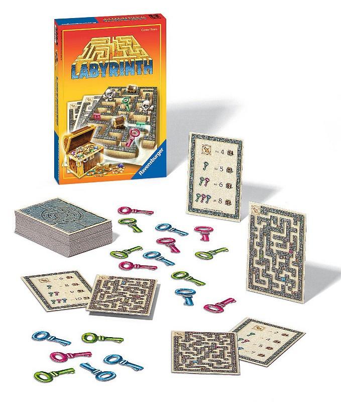 Ravensburger Labyrinth Honba za pokladem