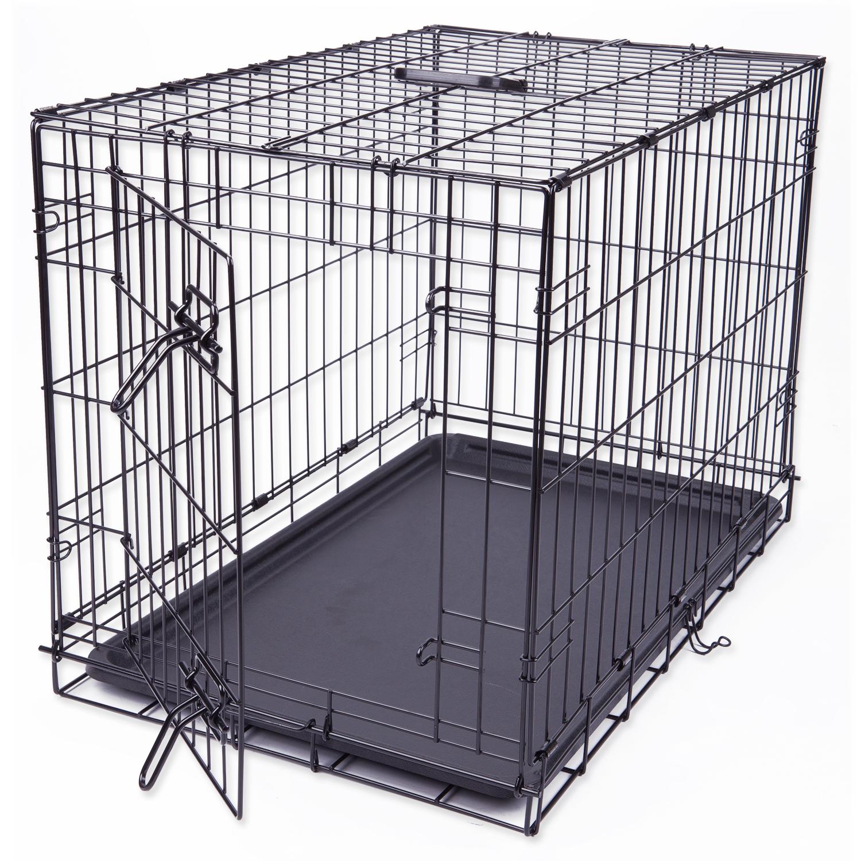 Klec pro psy DOG FANTASY skládací M 76x53x48cm