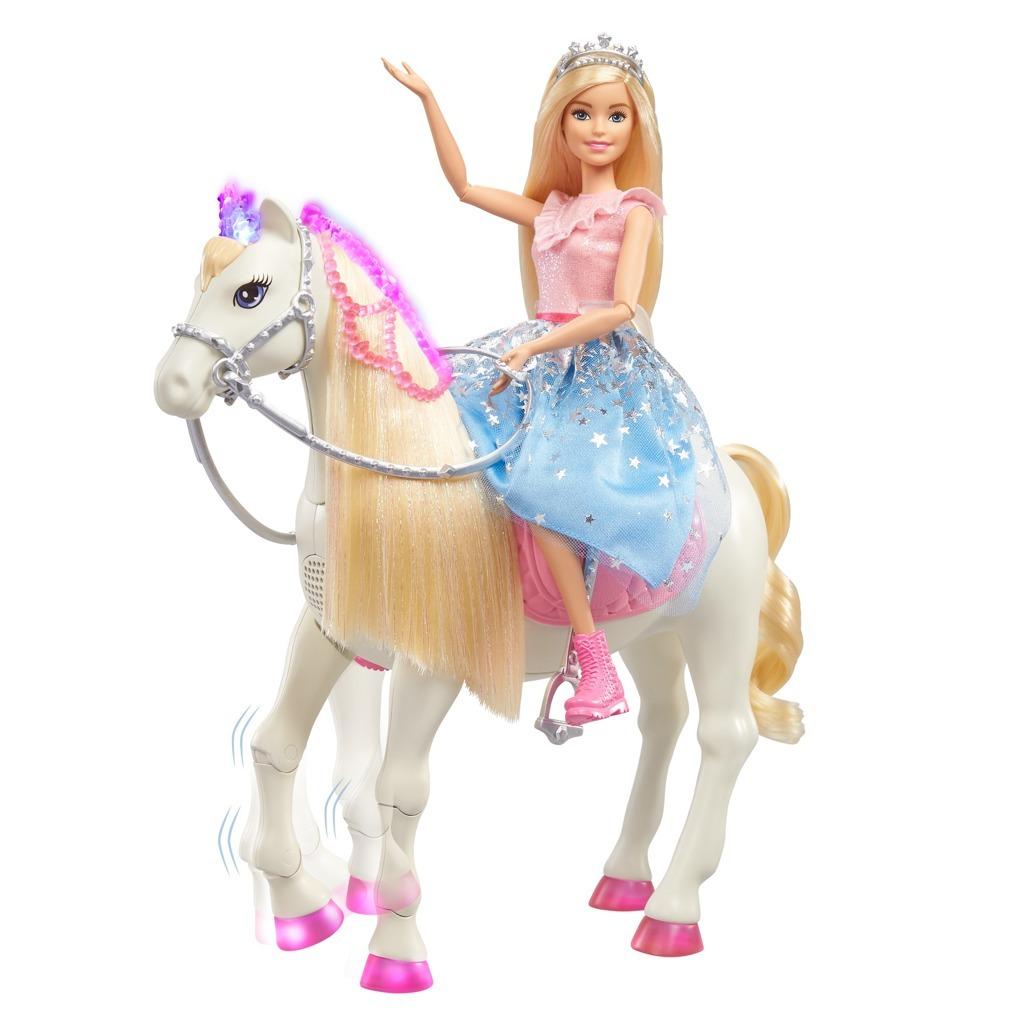 Barbie Adventure Princezna a kůň baterie