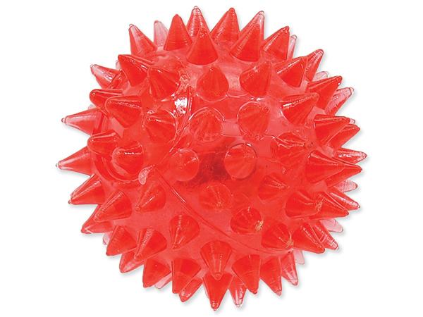Dog Fantasy míček LED 5 cm, růžový