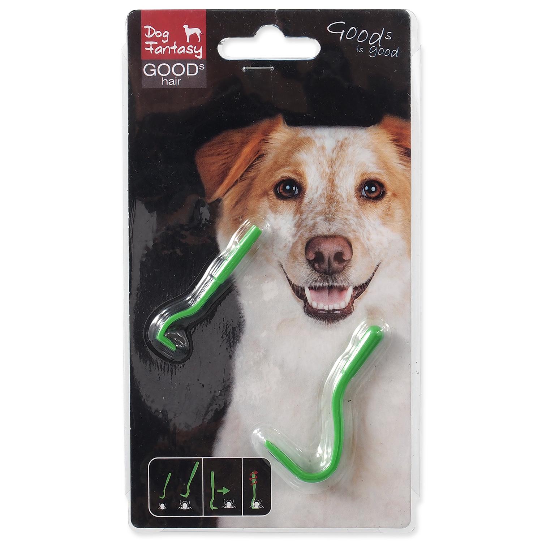Dog Fantasy Háček na klíšťata plast 2 ks