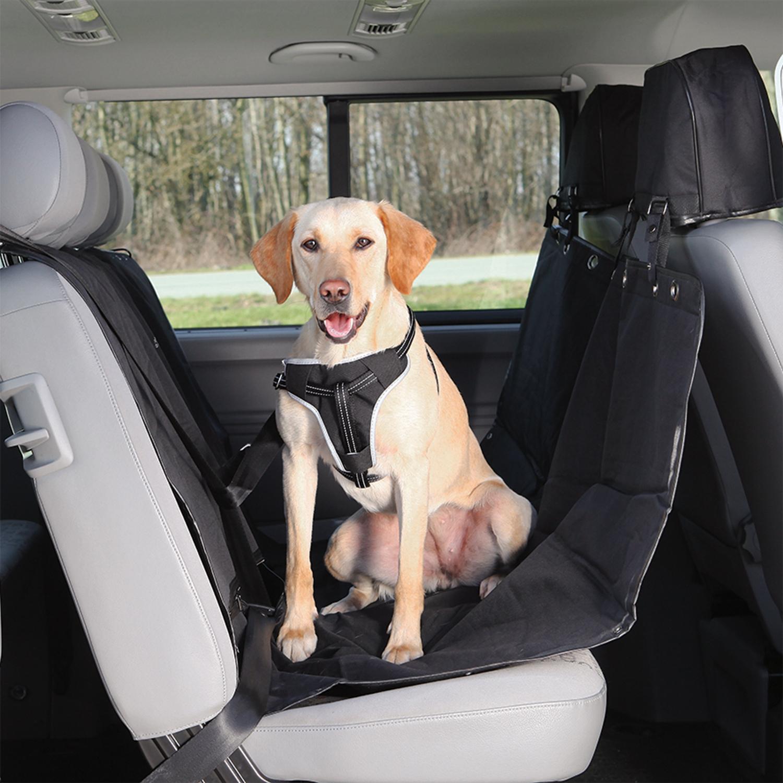 Trixie Autopotah na zadní sedadlo, černý 1,45 x 1,60 m