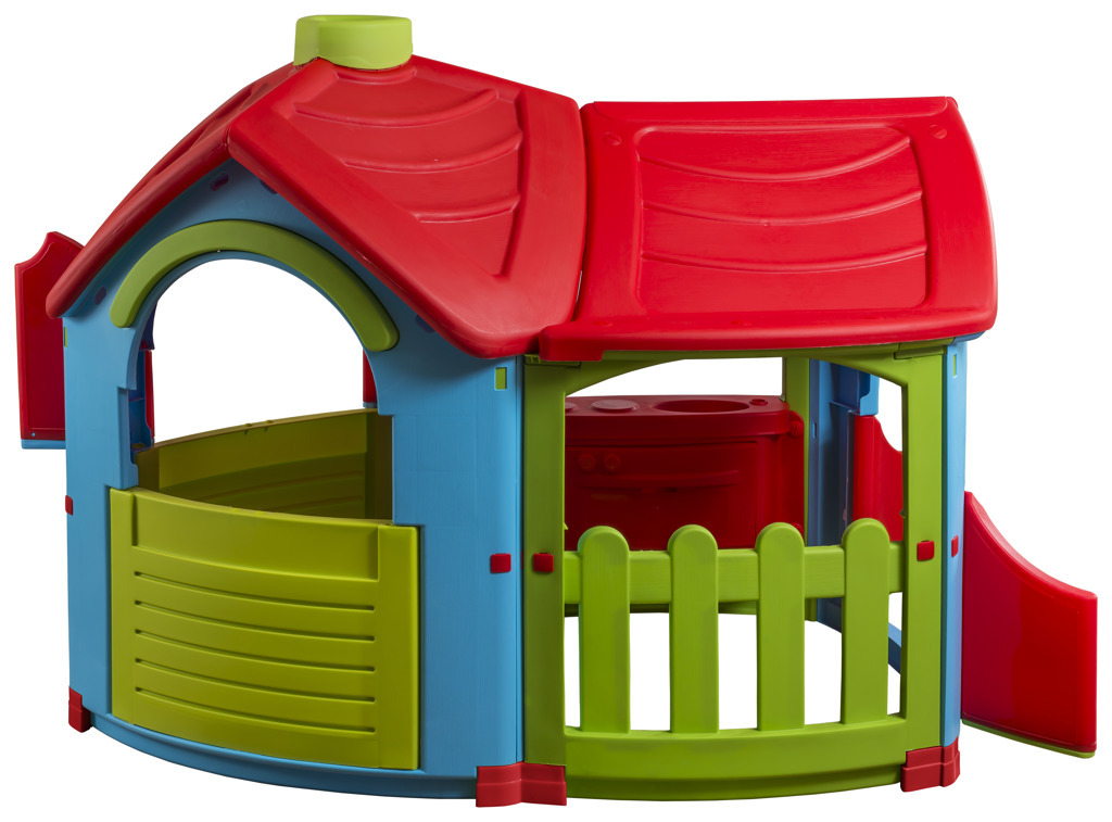 Marian Plast Domeček Dream House Fairy Benetton Červená
