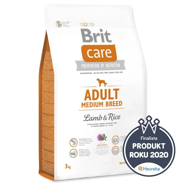 Brit Care Adult Medium Breed Lamb & Rice 3 kg
