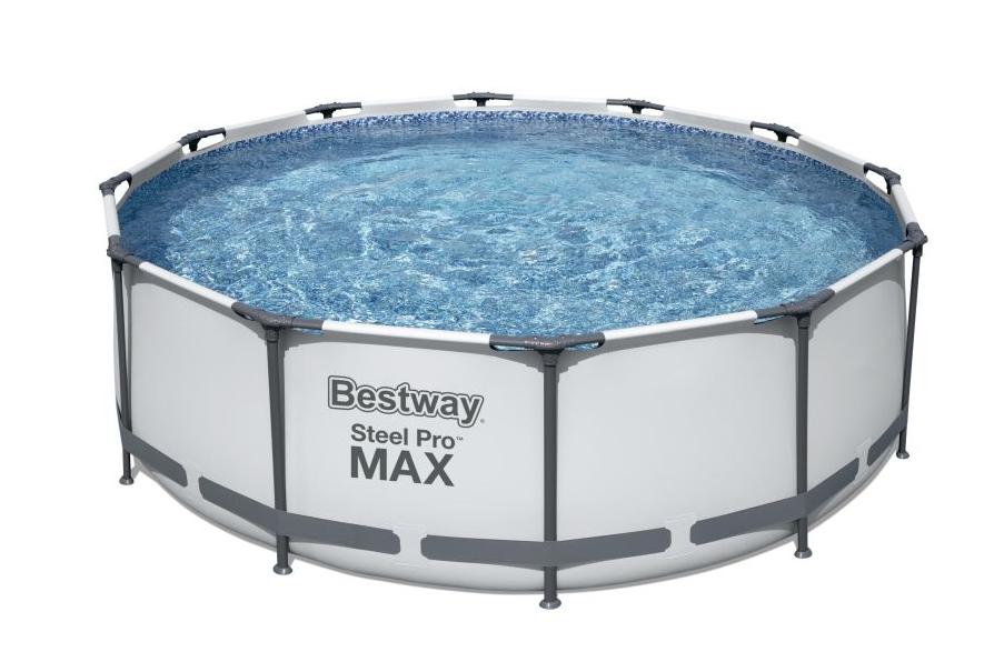 Bestway Steel Pro Max 3,66 x 1 m 15511 - BÍLÝ MODEL 2021