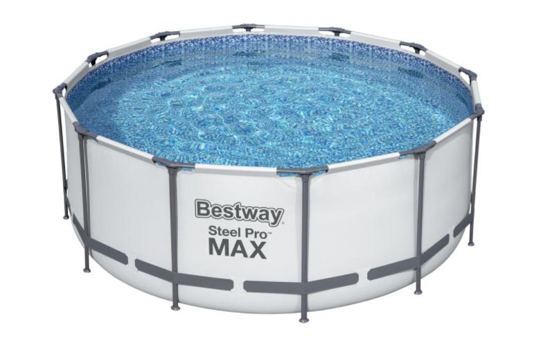 Bestway Steel Pro Max 3,66 x 1,22 m 14471 BÍLÝ MODEL 2021 BEZ FILTRACE A PŘÍSLUŠENSTVÍ