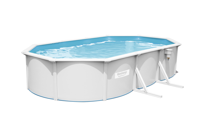 Bazén Bestway Hydrium Oval 6,1 x 3,6 x 1,2 m 56369 s pískovou filtrací