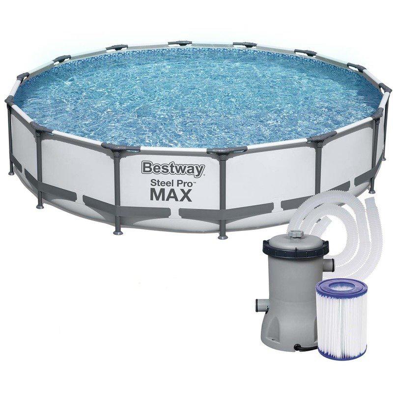 Bestway Steel Pro Max 427 x 84 cm 56595 s kartušovou filtrací