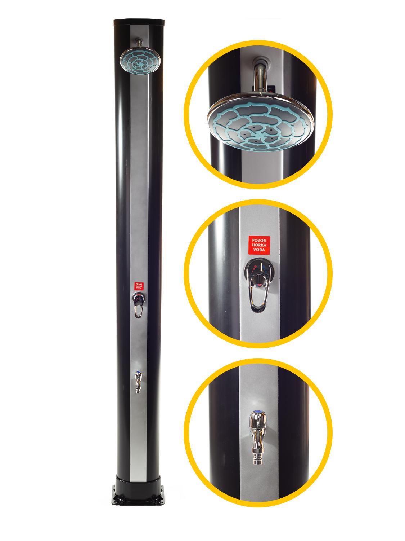 Solární sprcha Comfort 35l