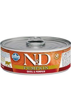 N&D GF Cat Pumpkin Adult Quail & Pumpkin 80 g