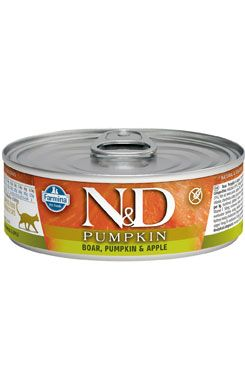 N&D GF CAT PRIME Adult Boar & Apple 80 g