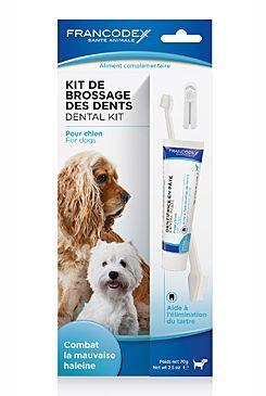 Francodex Dental Kit zubní kartáček + pasta 70 g