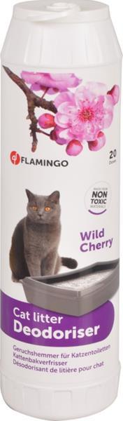 Flamingo Deodorant do WC vůně divoké třešně 750 g