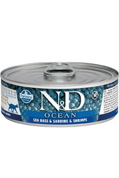 N&D Ocean Cat Adult Tuna & Sardine & Shrimps 80 g