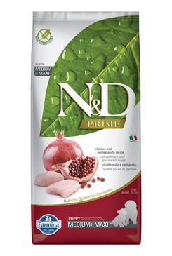 N&D Prime Dog Puppy M/L Chicken & Pomegranate 12 kg