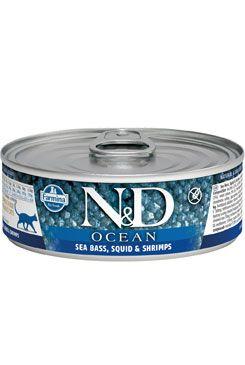 N&D Ocean Cat Adult Tuna & Squid & Shrimps 80 g