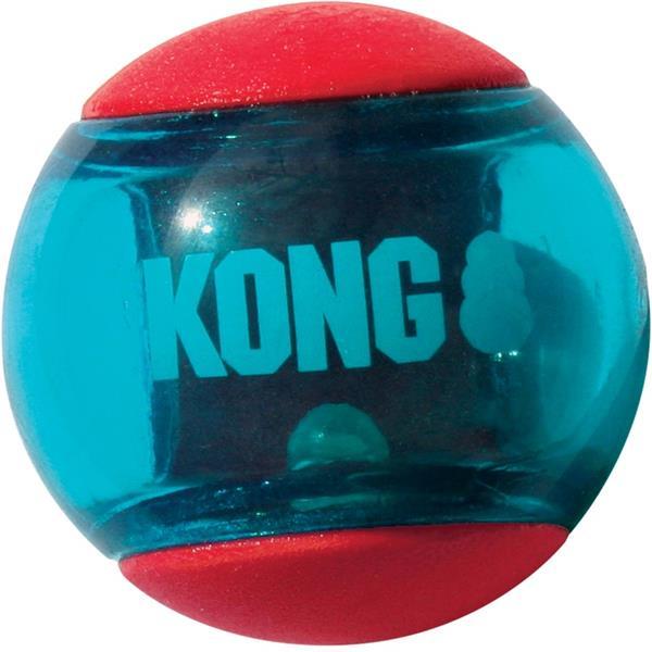 Kong guma Squeezz Action míč S 3 ks