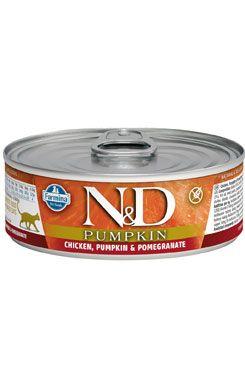 N&D GF Cat Pumpkin Adult Chicken & Pomegranate 80 g