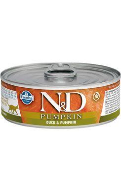 N&D GF Cat Pumpkin Adult Duck & Pumpkin 80 g