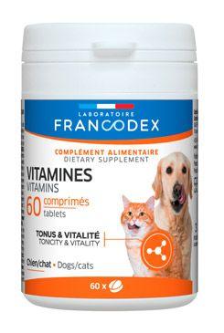 Francodex Vitamíny pes, kočka 60 tbl