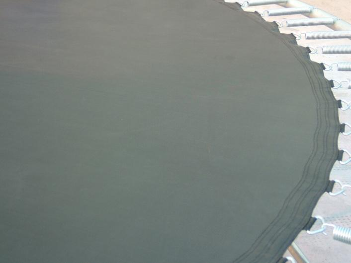 Skákací plocha k trampolíně s vnější ochrannou sítí | 366 cm, délka pružin 14 cm