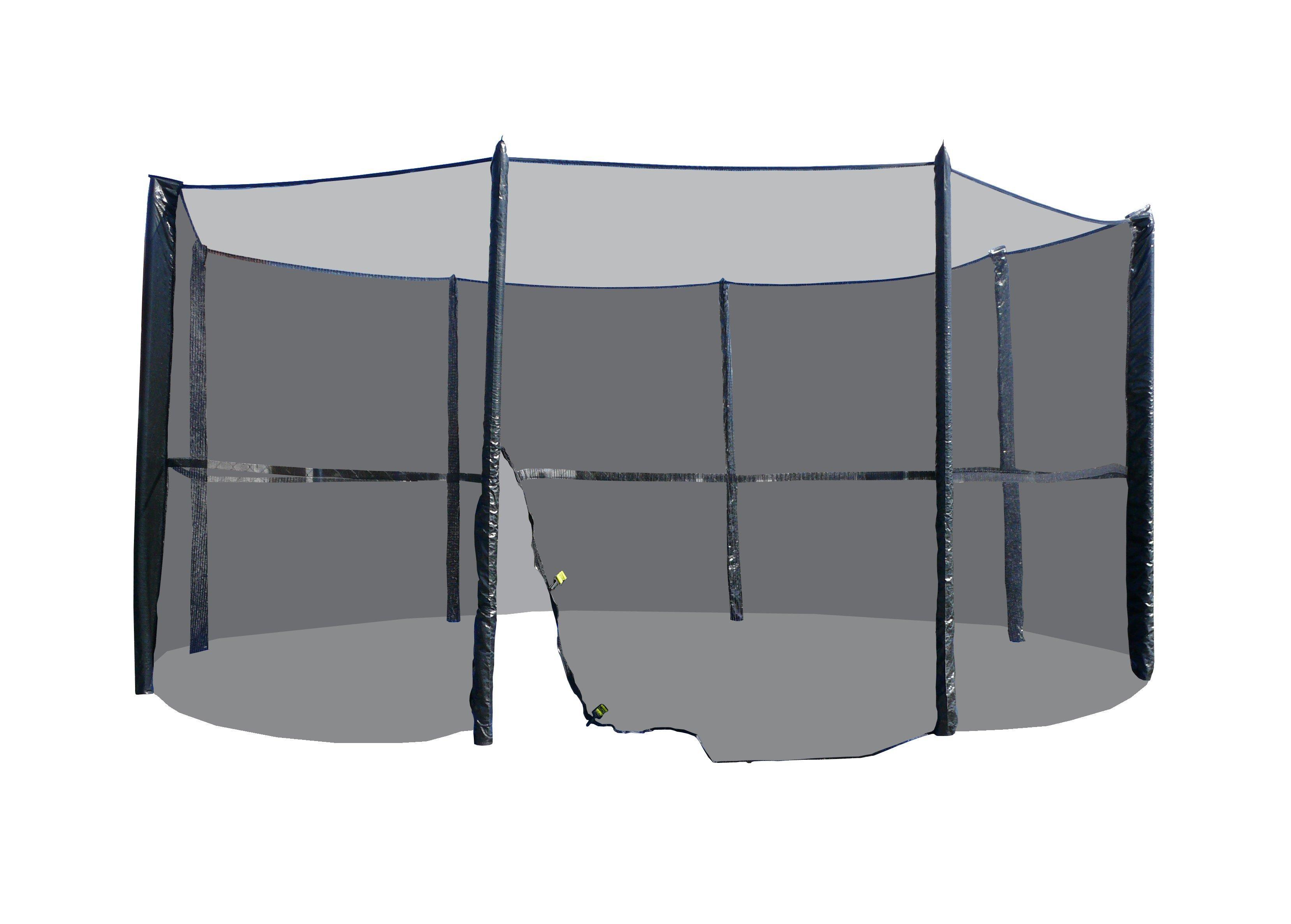 Vnější ochranná síť bez tyčí na trampolínu 183 - 490 cm