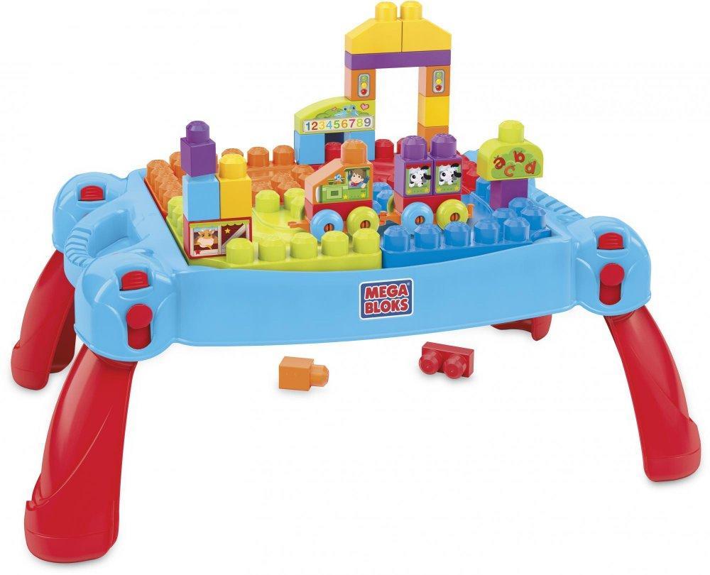 Mega Bloks Skládací hrací stůl s kostkami